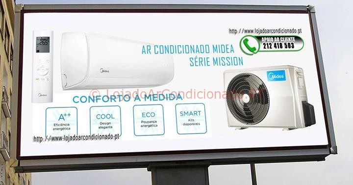 Ar Condicionado Midea mission