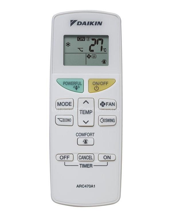 daikin ac remote control manual